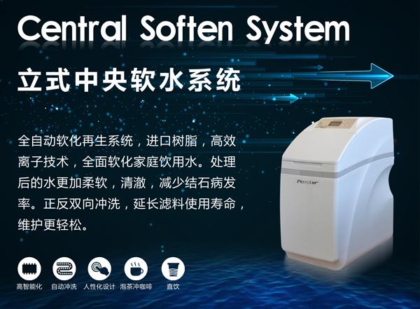 滨思特立式中央软水系统